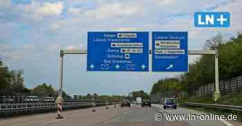 Nächtliche Einschränkungen für Autofahrer: Die A1 wird gereinigt