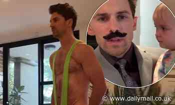 Matty Johnson transforms intoSacha Baron Cohen's character Borat
