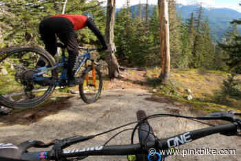 Video: Georgia Astle Leads Remy Metailler Down a Classic Whistler Trail - Pinkbike.com