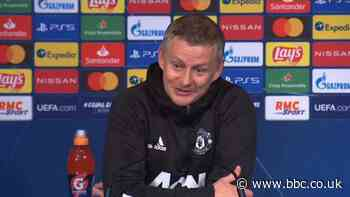 Paris St-Germain 1-2 Manchester United: McTominay played first half with one eye - Solskjaer