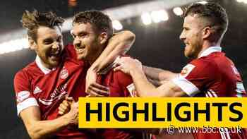 An early-goal blitz is enough for Aberdeen to see off Hamilton at Pittodrie