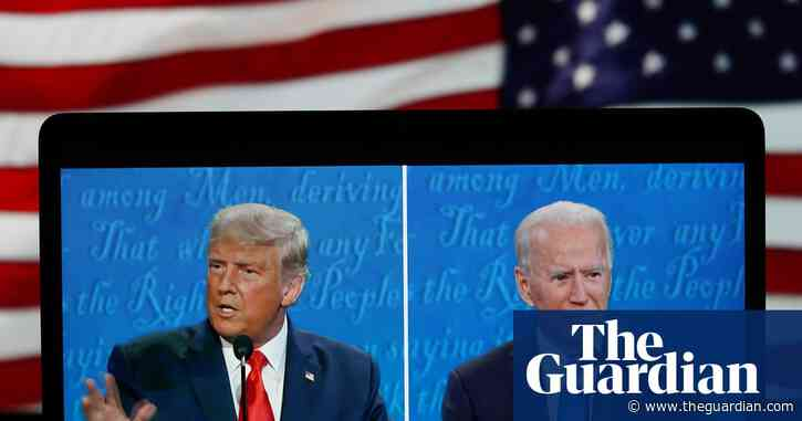 'Kills all the birds': Trump and Biden row over opposite climate stance in TV debate – video