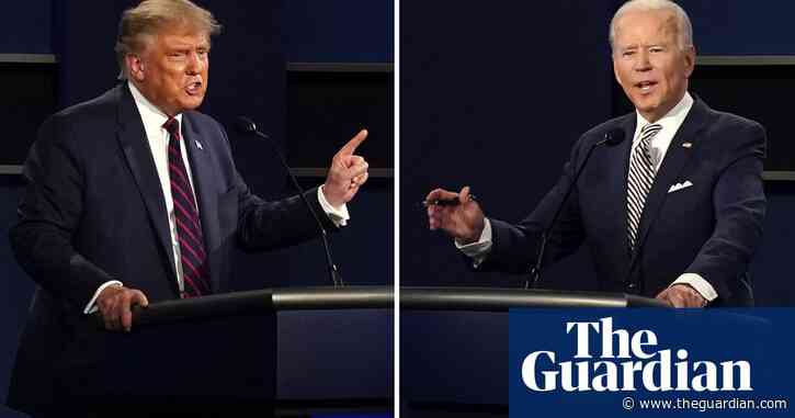 'Kills all the birds': Trump and Biden spar over climate stance in TV debate – video