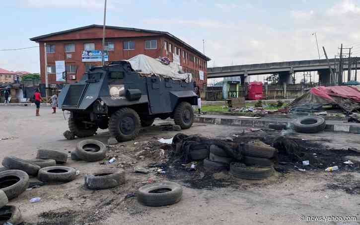 Nigeria president warns protesters as unrest flares