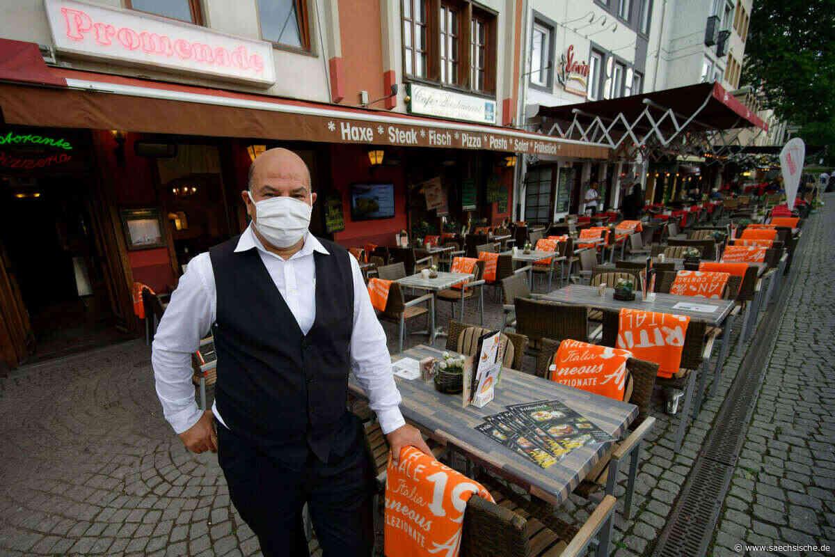 Wirbel um Maskenpflicht für Gastronomie in Riesa - Sächsische Zeitung