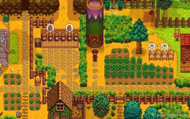 Stardew Valley: Update 1.5 bringt Splitscreen-Koop-Modus - PC Games