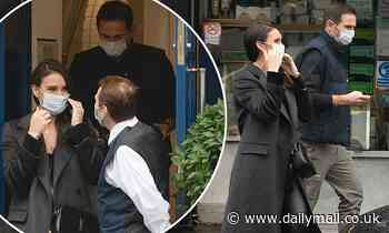 Christine Lampard and husband Frank Lampard on lunch date