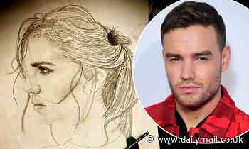 Liam Payne's fans go wild as he shows off his incredible artistic skills in a sketch