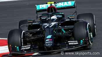 Bottas ahead of Hamilton on F1's Portimao debut