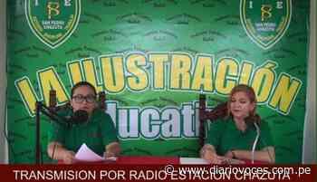 Programa radial educativo es un éxito en Chazuta - Diario Voces