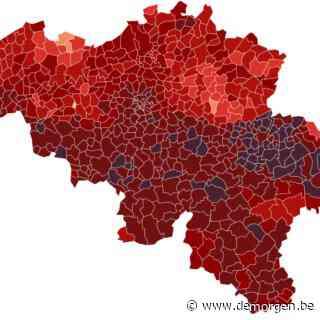 De belangrijkste cijfers en kaarten: hoe evolueert het aantal besmettingen in uw gemeente?