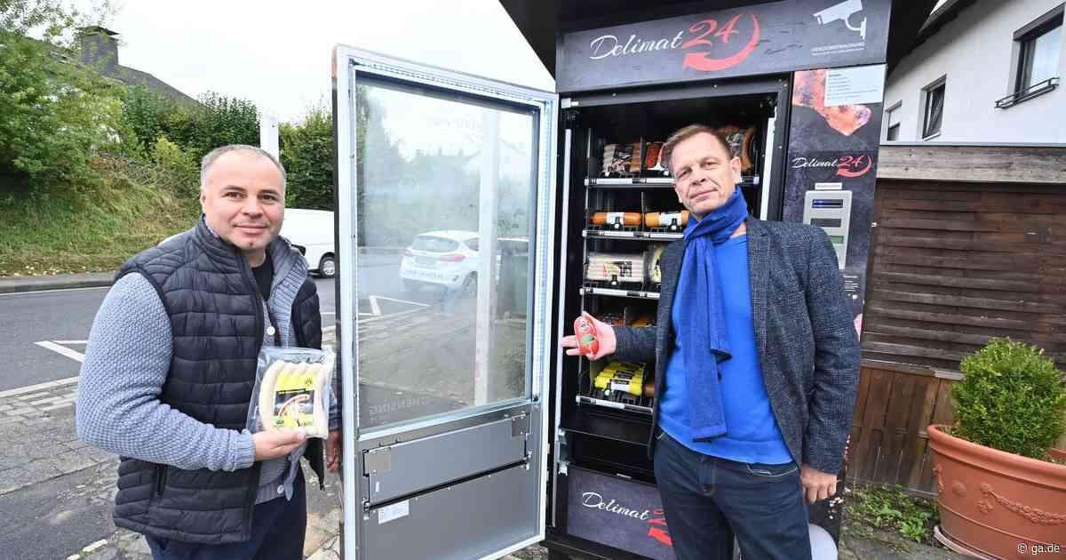 Wurstautomat von Tim Schäfer: Der Renner in Wachtberg ist die FC-Stadionwurst - ga.de