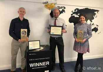 Inland Fisheries Ireland Shares in 2020 National Training Awards Gong - Afloat