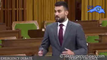 MP Melillo participates in Emergency Debate on fisheries dispute - Lake Superior News
