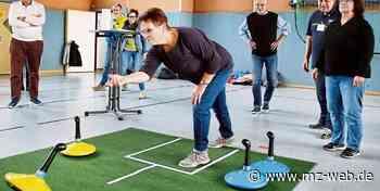 Sport aus Skandinavien: Warum Teppich-Curling in Sangerhausen gut ankommt - Mitteldeutsche Zeitung