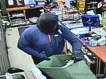 Man with baseball bat empties Manotick store cigarette display into laundry basket, flees: Police - Ottawa Citizen