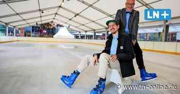 Ein Hauch Winter: Eisbahn am Citti-Park ab Sonnabend wieder geöffnet