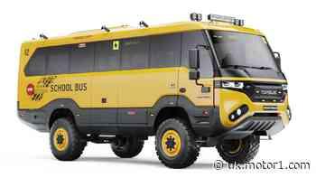 Torsus Praetorian off-road school bus fears no snow day