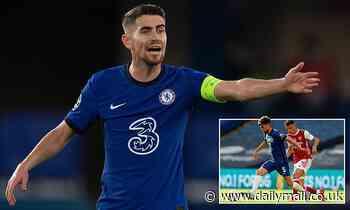 Chelsea midfielder Jorginho breaks silence over summer interest from Arsenal