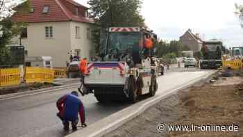 Vollsperrung B 101: Ab Montag zu Kaufland in Herzberg über Großrössen - Lausitzer Rundschau
