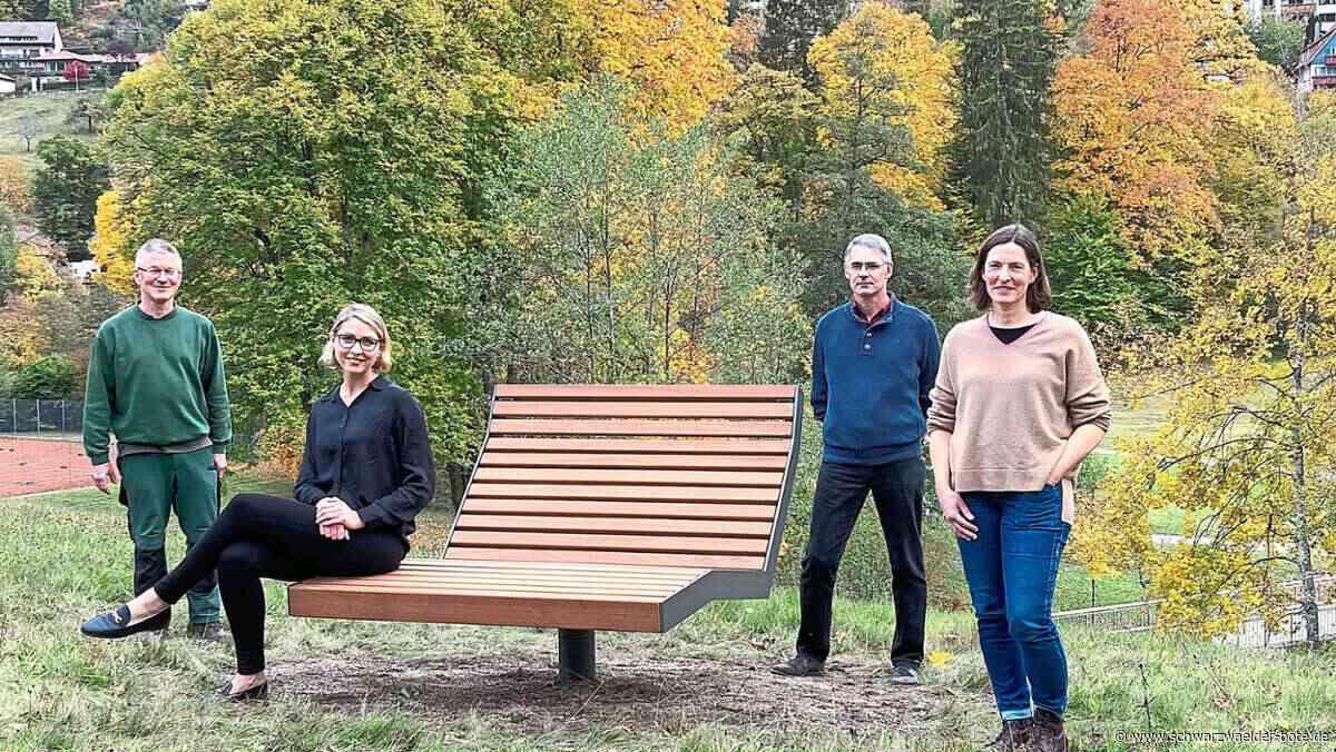 Bad Wildbad: Kurpark hat neue Himmelsliegen