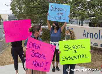 Some Parents Are Demanding In-Person Schooling as the Pandemic Stretches On