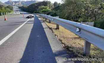 Motociclista murió tras chocar con una baranda en Zarzal, Valle - El País