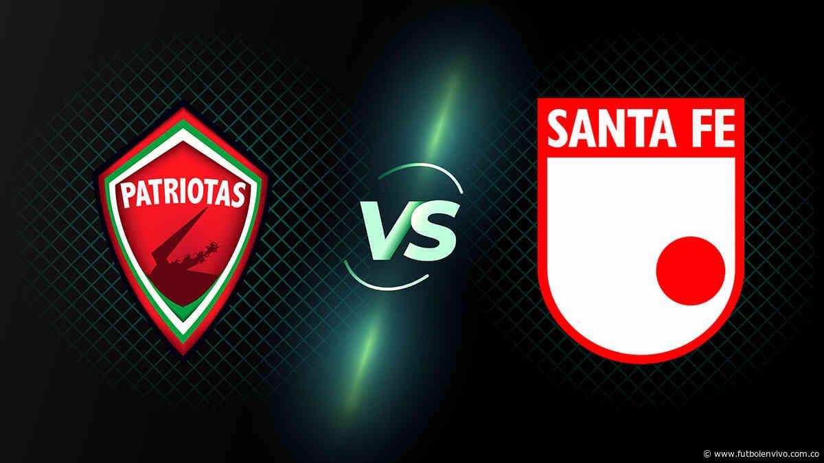 Patriotas vs Santa Fe en vivo online: ver partido Copa BetPlay, en directo - Fútbol en vivo
