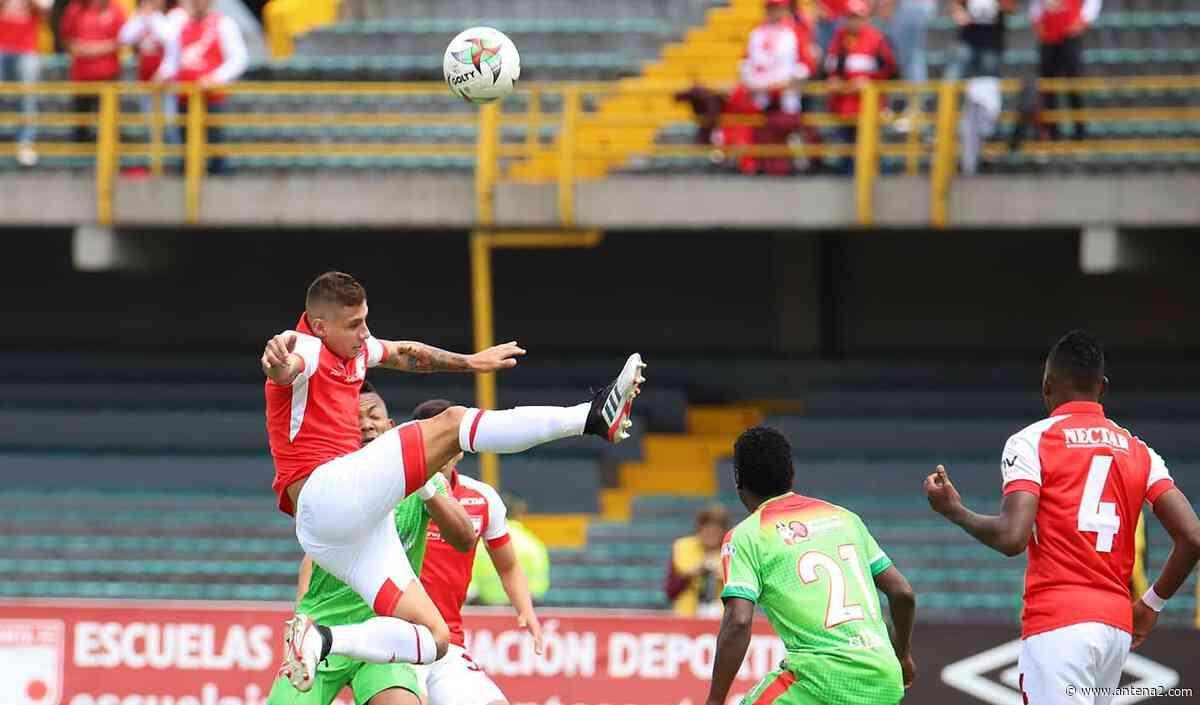 EN VIVO: Patriotas vs Santa Fe; Copa Betplay, fase 3 - Antena 2