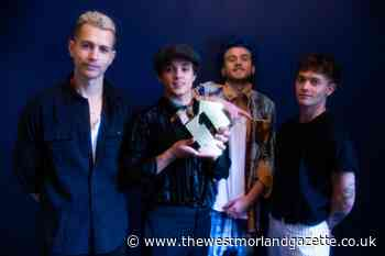 Pop rockers The Vamps score chart success with Cherry Blossom