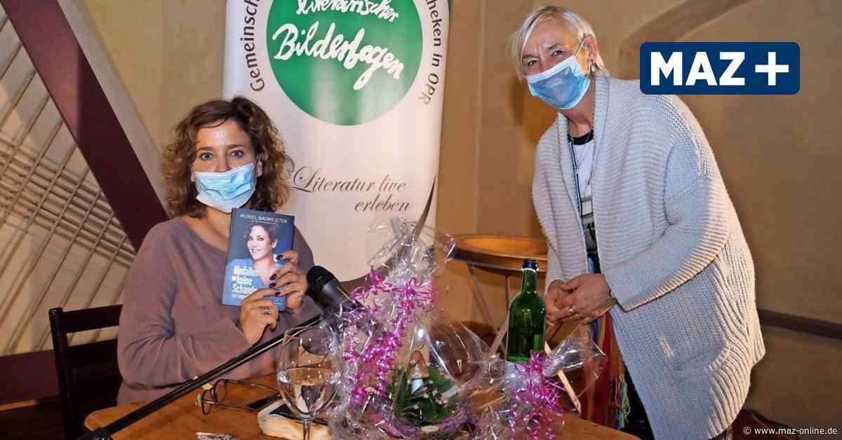 Muriel Baumeister sprach in Wittstock über ihre Alkoholsucht - Märkische Allgemeine Zeitung