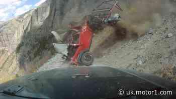 Shocking video captures Jeep Wrangler tumbling down a mountain
