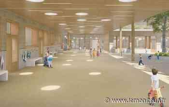 Montfermeil : une nouvelle école en bois, paille et terre crue - lemoniteur.fr