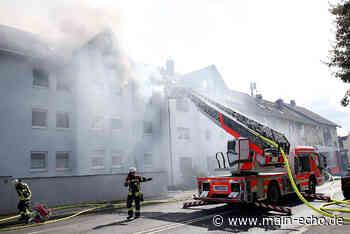 Wohnungsbrand in Aschaffenburg: Kind hat gezündelt - Main-Echo