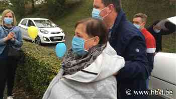 Annick Moyaerts verlaat na 218 dagen het Sint-Trudo Ziekenhuis in limousine