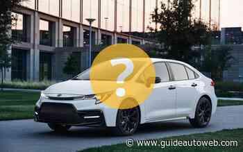 Pourquoi aimez-vous tant les Toyota Corolla?