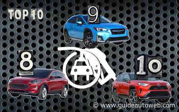 10 modèles avec une version hybride rechargeable