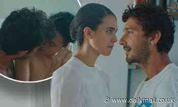 Margaret Qualley and Shia LaBeouf strip naked as they portray lovers in Love Me Like You Hate Me