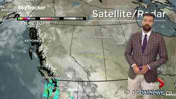 Edmonton afternoon weather forecast: Friday, October 23, 2020