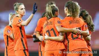 Oranje Leeuwinnen plaatsen zich dankzij monsterzege voor EK