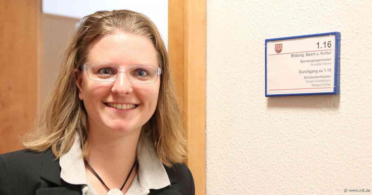 Annabel Hanke ist das Gesicht des Sportbüros der Stadt Porta Westfalica | Sportmix - Mindener Tageblatt