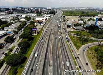 Rodovia Presidente Dutra com acidente e interdição de faixa em Guarulhos nesta sexta (23) - Via Trolebus