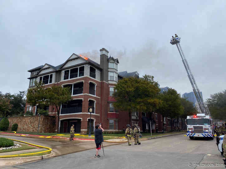 12 Residents Displaced After Fire At Fort Worth Apartments