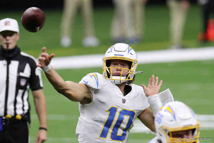 Fantasy Football Start Or Sit Week 7: Chargers QB Justin Herbert 'Going To Light Up' Jaguars Defense Says CBS Sports' Jamey Eisenberg