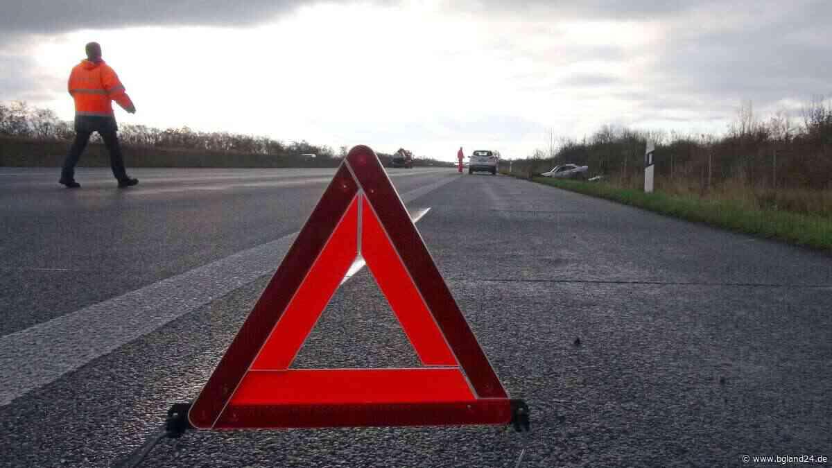 Trostberg: Fahrer flüchtet nach Unfall - Polizei fahndet - bgland24.de