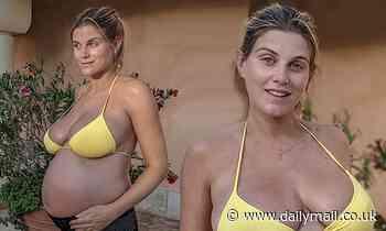 Pregnant Ashley James describes her struggle with pelvic girdle pain