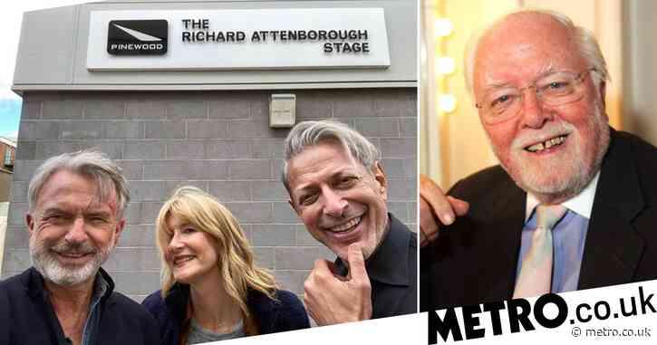 Jurassic Park stars Laura Dern and Sam Neill share poignant tribute to Richard Attenborough