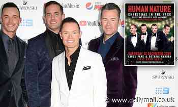 Human Nature will return to the stage to play aChristmas concert in Perth
