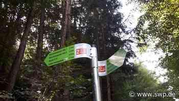 Polizei Gaildorf: Vandalen beschädigen Wanderschilder - Bürgermeister fürchtet Imageschaden - SWP