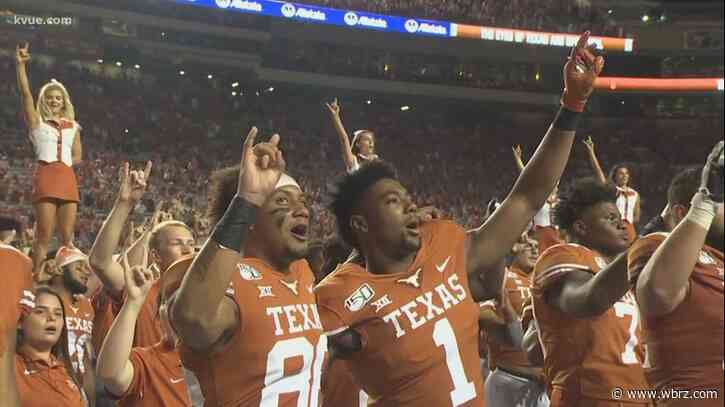 Conflict raging over Longhorns' 'The Eyes of Texas' school song